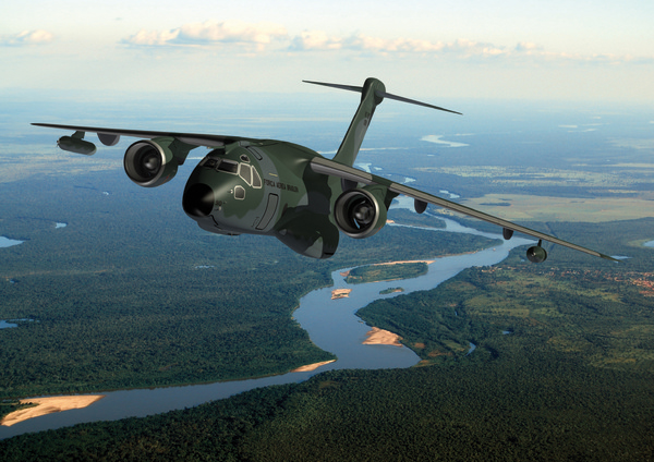 Avion de transport militaire Embraer KC-390