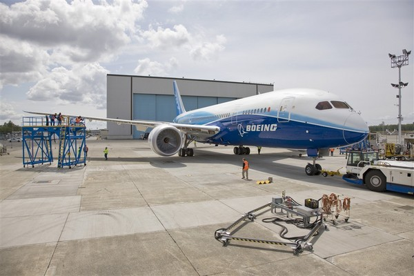 Boeing 787-8 en phase de test