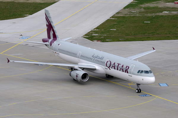 Airbus A321 de Qatar Airways