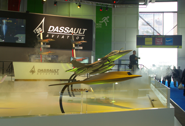Stand Dassault Aviation au Salon du Bourget 2009