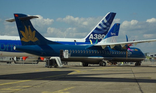 ATR 72-500 aux couleurs de Vietnam Airlines au Salon du Bourget 2009