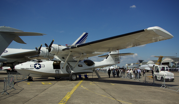 PBY Catalina au Salon du Bourget 2009