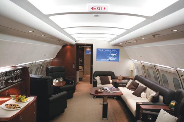 intrieur dun airbus a318 elite