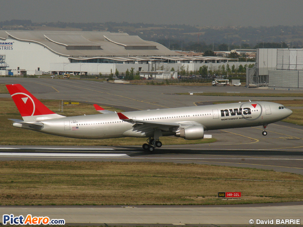 Airbus A330-300 de Northwest Airlines