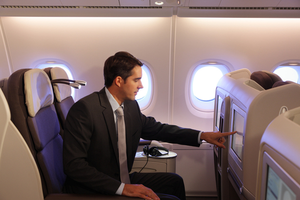 Classe Affaires sur l'A380 d'Air France