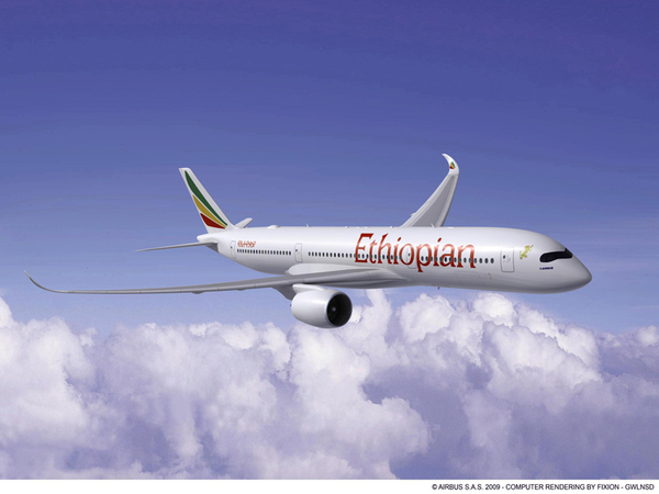 Airbus A350-900 d'Ethiopian Airlines