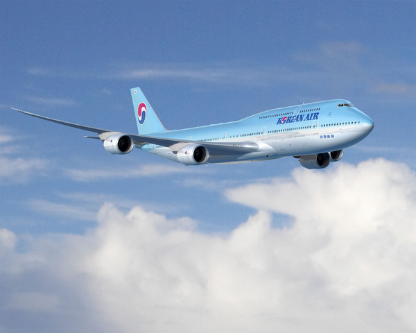Boeing 747-8 Intercontinental de Korean Air