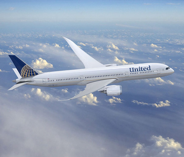 Boeing 787 de United-Continental