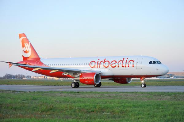Airbus A320 d'Air Berlin