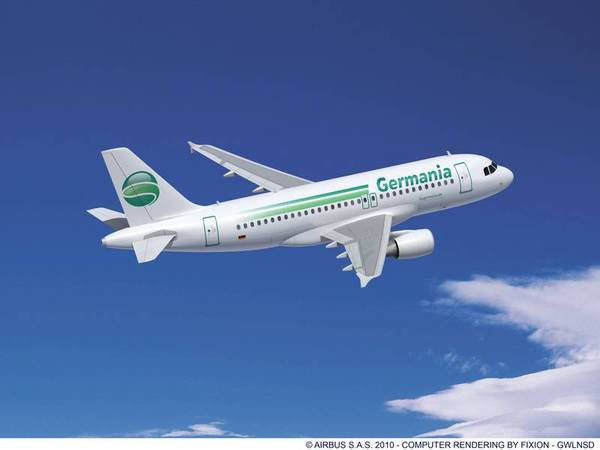 Airbus A319 de Germania