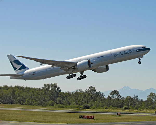 Boeing 777-300ER de Cathay Pacific