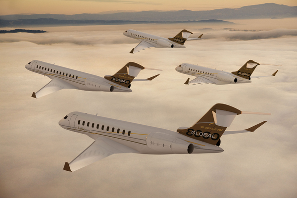 Famille Global de Bombardier