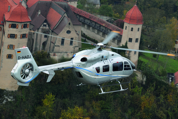 Eurocopter EC-145 T2 en vol
