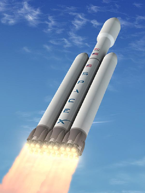 Lanceur Falcon Heavy de SpaceX