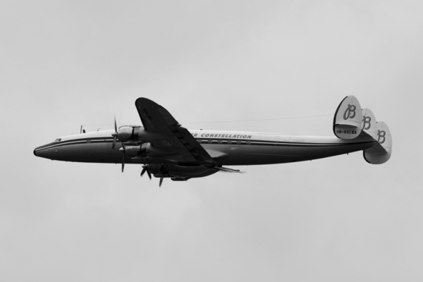 Le super constellation au Bourget 2011
