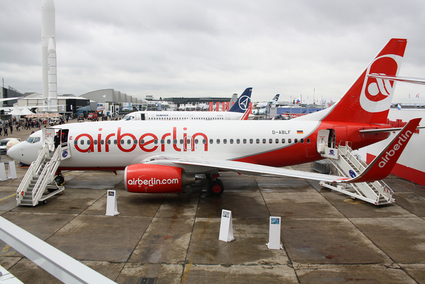 Le Boeing 737 Air berlin au Bourget 2011