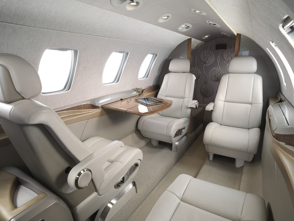 Cabine du Cessna Citation M2