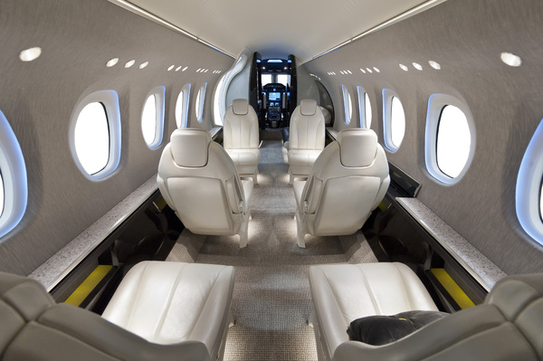 Cabine du Cessna Citation Latitude
