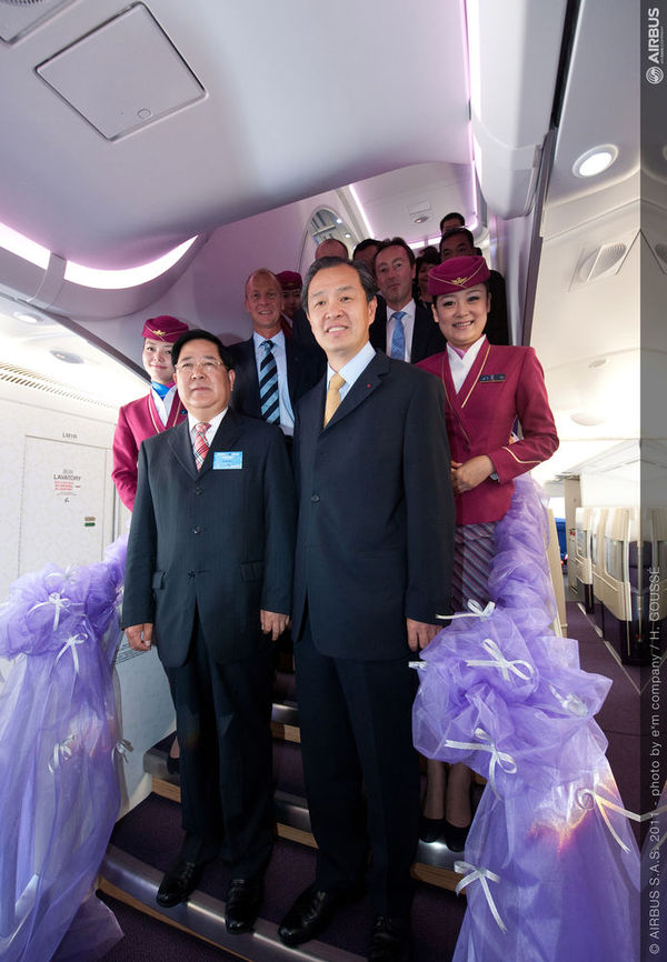 China Southern reçoit son premier Airbus A380