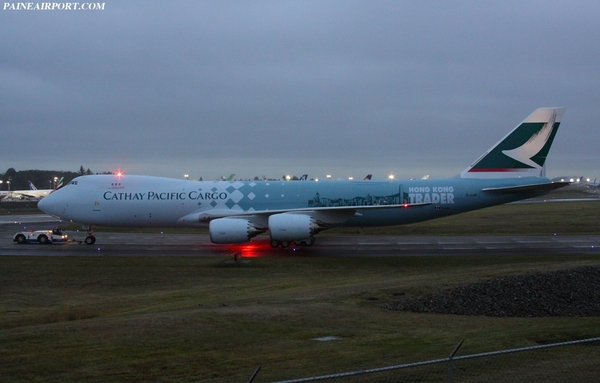 "Boeing 747-8F ""Hong Kong Trader"" de Cathay Pacific Cargo"