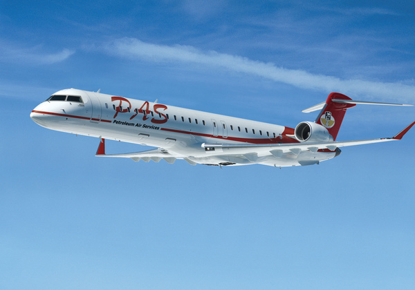 Bombardier CRJ900 de Petroleum Air Services