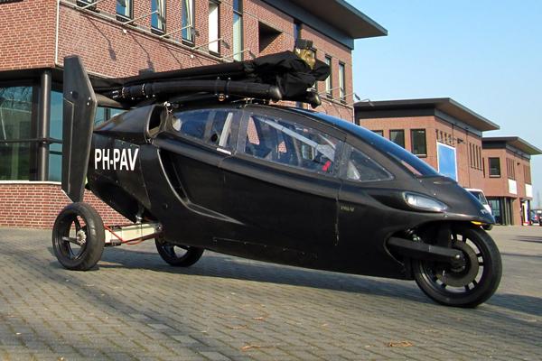les voitures volantes ont le vent en poupe actualit a ronautique aeroweb. Black Bedroom Furniture Sets. Home Design Ideas