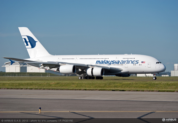 Airbus A380-800 Malaysia Airlines