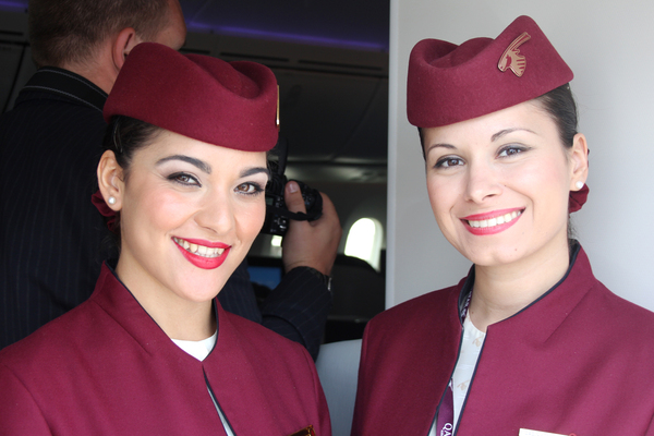 hôtesses qatar airways