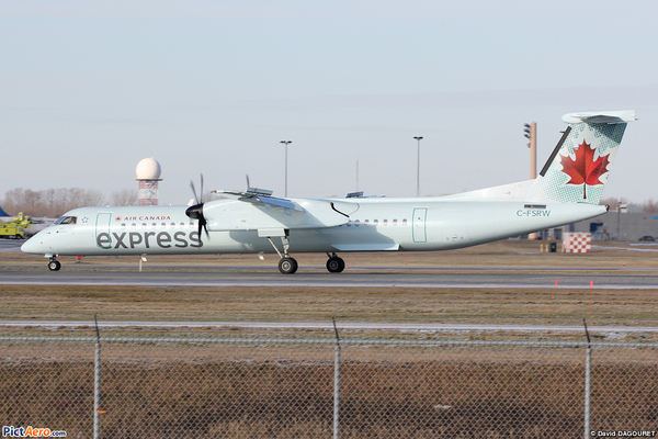 Dash 8 Q400 Air Canada Express