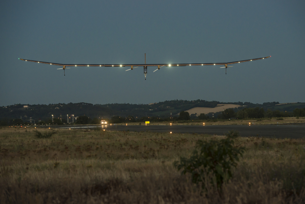 Solar Impulse à Toulouse