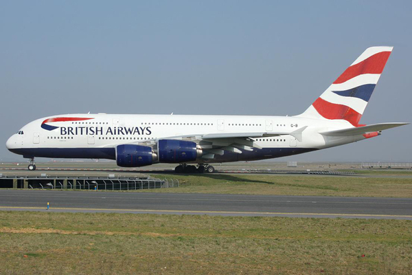 infographie A380 British airways