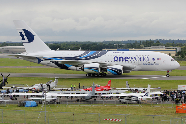 Airbus A380 Malaysia Airlines OneWorld