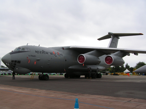 Ravitailleur de l'Indian Air Force (IAF) Ilyushin Il-78MKI