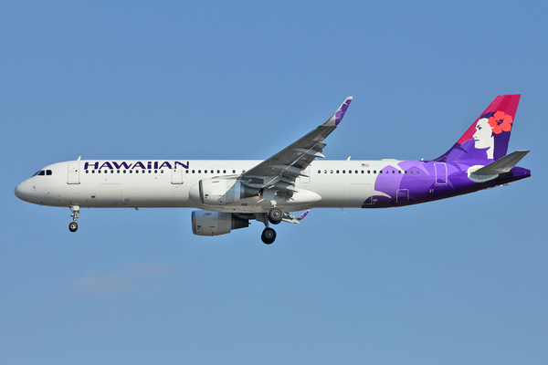 Airbus A321neo d'Hawaiian Airlines