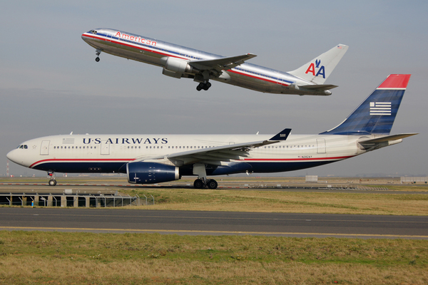 Fusion American Airlines et US Airways