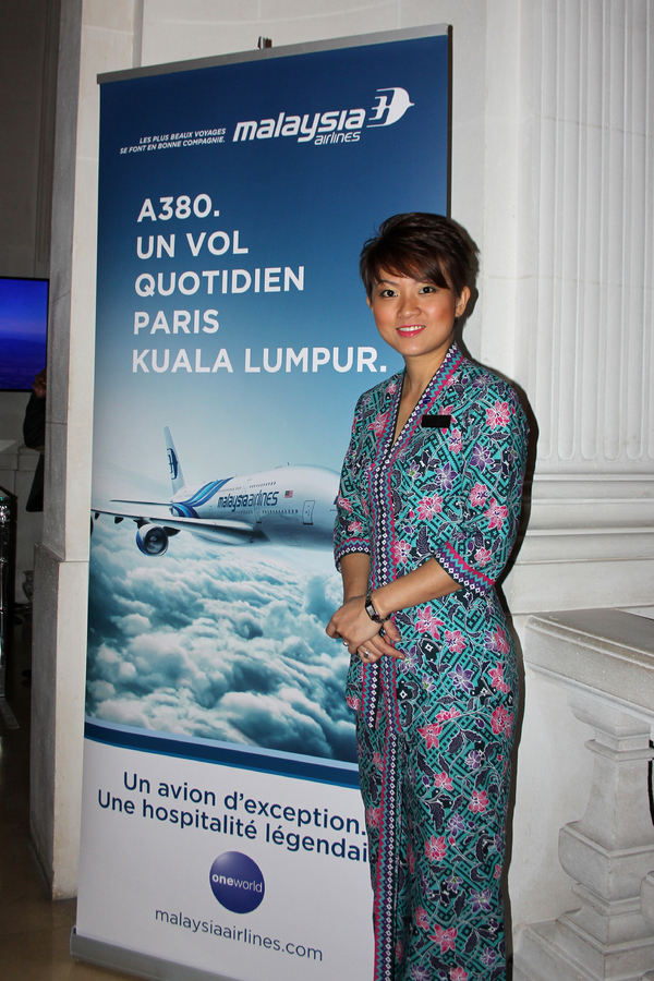 Soirée A380 Malaysia Airlines