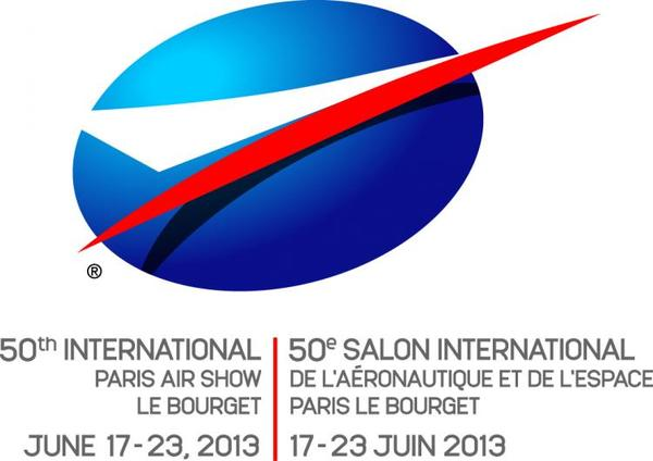 Logo officiel du Salon du Bourget 2013