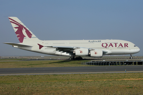 Airbus A380 Qatar Airways (infographie)