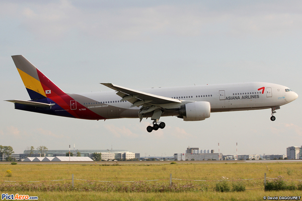 Boeing 777 d'Asiana