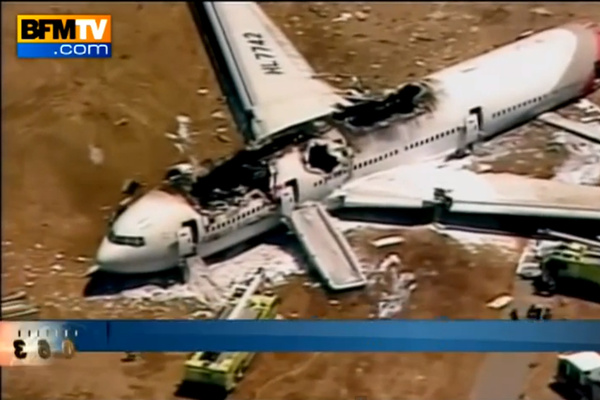 Crash Boeing 777 Asiana Airlines