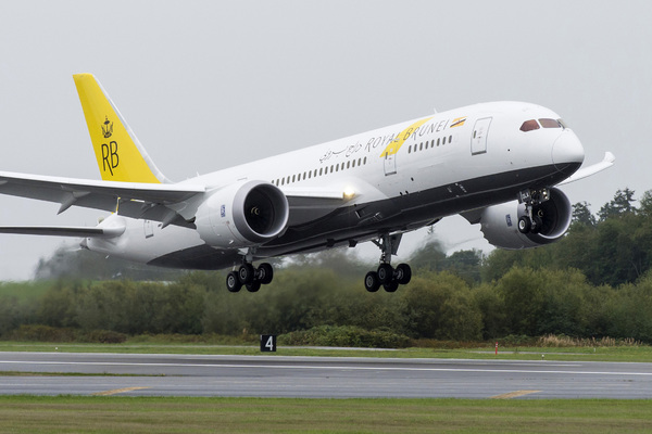 Boeing 787 Royal Brunei Airlines