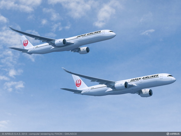 Airbus A350 XWB de Japan Airlines