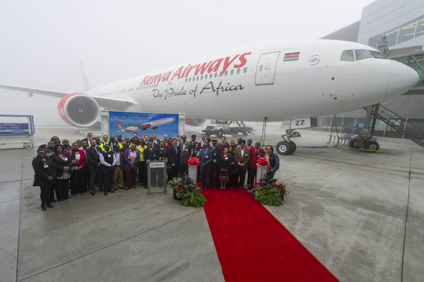 Boeing 777-300 Kenya Airways