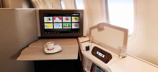 Classe affaire 787 Air Canada