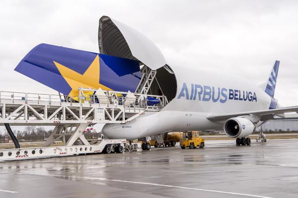 Empennage A380 Skymark Airlines