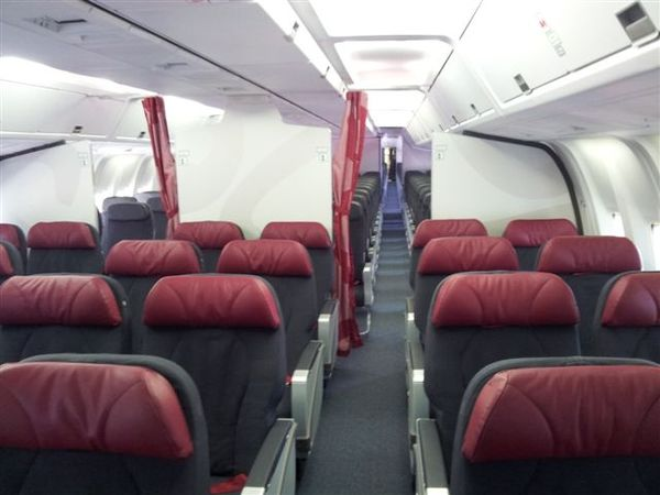 Cabine Boeing 767-300ER Air Canada Rouge