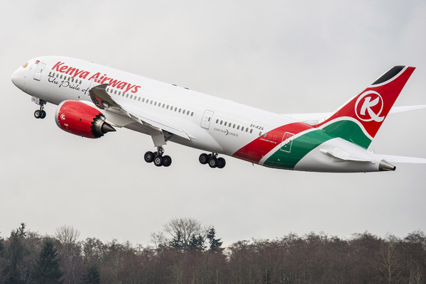Boeing 787-800 Dreamliner Kenya Airways