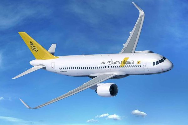 Airbus A320neo Royal Brunei