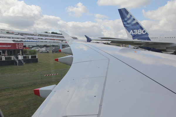 Farnborough 2014 Airbus A350 XWB