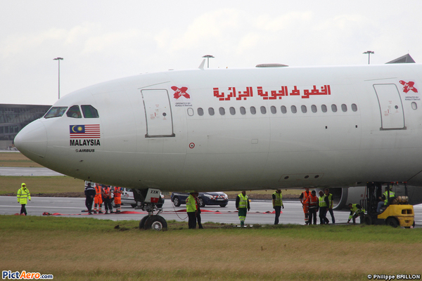 Incident à Lille de l'Airbus A330 Air Algérie